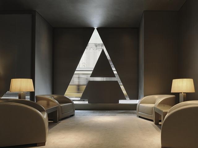 Armani Hotel Milano Welcome Area