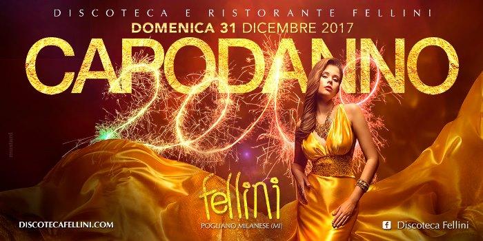 Capodanno 2018 Fellini Pogliano