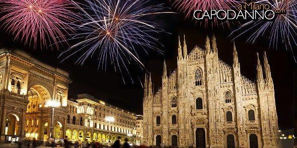 Capodanno Piazza Duomo Milano