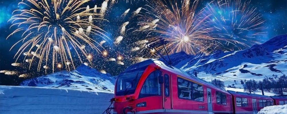 Come festeggiare il Capodanno 2021 sul Trenino del Bernina